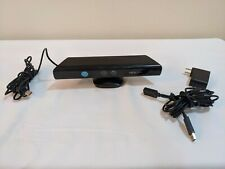 Genuine Microsoft XBOX 360 Kinect Sensor Bar Model 1414 Black with Power Adapter