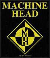 MACHINE HEAD PATCH AUFNÄHER # 13 BURN MY EYES LOGO 10x8cm FLICKEN ABZEICHEN