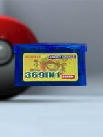 369 GIOCHI IN 1 GAME BOY ADVANCE POKEMON FLASH CARD R4 SMERALDO DS RUBINO NDS GB
