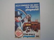 advertising Pubblicità 1985 GIG PLAYMOBIL