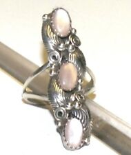 Sterling Silver Pink Ring Ladies size 5-1/2, Southwest