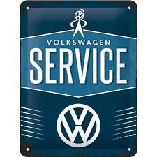 VW VOLKSWAGEN Service LAMIERA SCUDO 15x20 cm bulli t1 t2 t3 t4 bus Sign 26184