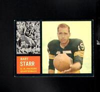 6144* 1962 Topps # 63 Bart Starr EX