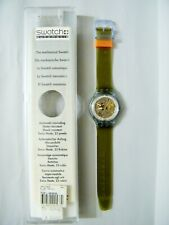 SWATCH BLUE MATIC orologio meccanico VINTAGE mechanical watch - SAN100 1991