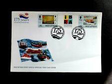 I.O.M. 4 March 1999 lifeboats SG836/838 2v ex bkt FDC