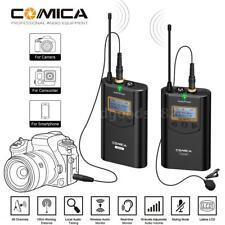Comica Cvm-wm100 Professional 48channel UHF Omni-directional Wireless Microphone
