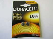 2x LR44  Blister Alkaline Knopfzelle Duracell AR1642