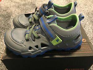 Merrell Hydro 2.0 Boy's Water Shoes Grey Multi 13 2 NEW