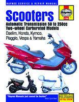Daelim Honda Kymco Piaggio Vespa Yamaha 50 80 125 150 200 SCOOTER REPAIR MANUAL