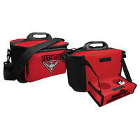 Essendon Bombers  AFL Lunch Cooler Bag With Drink Tray Table Insulated Work