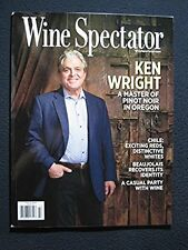 Wine Spectator Magazine May 31, 2015 Ken Wright Master of Pinot Noir in Oregon
