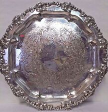 Silverplated Antique Non-US Silver Trays