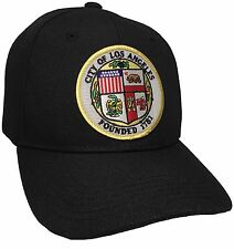 City Of Los Angeles Hat Color Black Adjustable