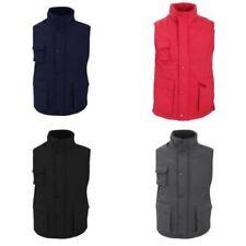 Manteaux et vestes en nylon sans manches pour homme