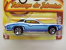 HOT WHEELS INTERNATIONAL CARD - CARS OF THE DECADES THE '70S - '71 PLYMOUTH GTX