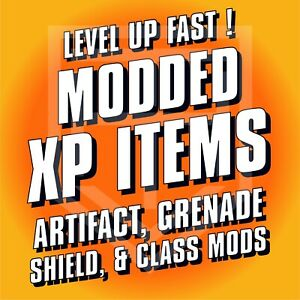 Borderlands 3 [MODDED XP ITEMS] Shield COM Grenade Artifact [ALL PLATFORMS] BL3