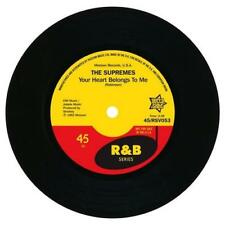 """THE SUPREMES Your Heart Belongs To Me  R&B SOUL 45 (OUTTA SIGHT) NORTHERN 7"""""""