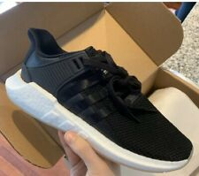 adidas EQT Support 93/17 Core Black White Size 10 BZ0585 NMD BOOST