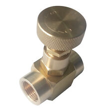 "Brass needle valve,3/8""Female NPT ,1000WOG"
