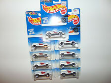 9) Hot Wheels SPEED MACHINE ONLY LOT Vintage BLUE CARD DIECAST GREAT FOR CUSTOMS