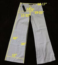 139$ NWT Miss Sixty DL0041 NEW TULUM W27 L34 jeans boot cut stretch cotton white