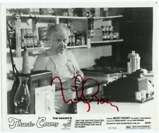 SIGNED HOLLYWOOD ACTOR Autographed Mickey Rooney Thunder Country Publicity Photo