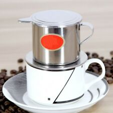 Stainless Steel Coffee Dripper Coffee Maker Drip Filter Coffee Screw Pot Design.