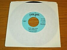 """PROMO 70's ROCK 45 RPM - BAD COMPANY - SWAN SONG 71000 - """"GONE, GONE, GONE"""""""