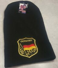 German Flag in shield Winter Skull Cap Germany Flag