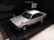 1 43 Wit's WITS Toyota CARINA 1600GT TA61 Silver Metallic 1990 W482 NEW!