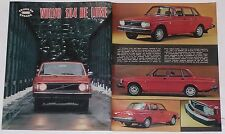 Test Drive Prova 1974 VOLVO 144 DE LUXE