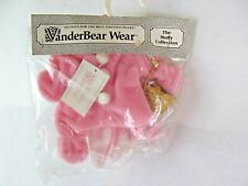 """VanderBear Wear Pink Easter Bunny For Muffy Bear 7"""" Clothing New NABCO"""