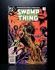 COMICS: DC: Saga of the Swamp Thing #48 (1980s), John Constantine app - RARE