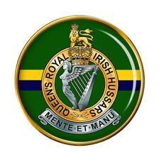 Queen's Royal Irish Hussars, British Army Pin Badge