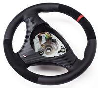Alcantara Volant en Cuir BMW M-POWER E81, E82 Neuf Cuir - Couverture 11 Rouge