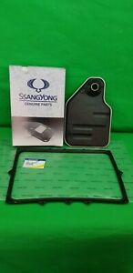 GENUINE SSANGYONG ACTYON SPORTS 6 SPEED AUTO T/M SERIVE KIT (FILTER + GASKET)