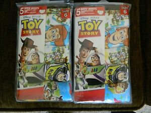 Toy Story 10 pair of boys size 4 underwear
