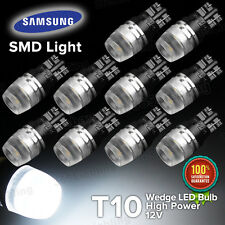 Yorkim 10X High Power white T10 Wedge SAMSUNG led lights W5W 192 168 194 2825