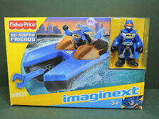 Fisher Price IMAGINEXT W8531 Playset BatBoat + figurine DC Batman Super-Friends