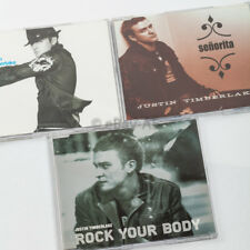 Justin Timberlake Lot of 3 CD SINGLE. Used. Plays fine and good. TESTED!