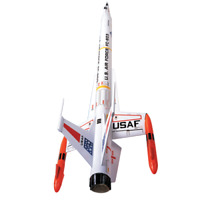 Estes Interceptor expert level 2 model rocket kit new 1250