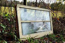 VINTAGE OLD SASH ANTIQUE WOOD WINDOW PICTURE FRAME PINTEREST WEDDING 32X20 CRAFT