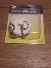 bathroom stopper with chain