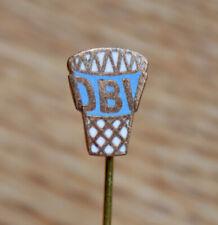 East German Basketball Association DBV Vintage Pin Badge