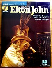 ESSENTIAL ELTON JOHN - PARTITIONS pour CLAVIER & PAROLES  + CD - Textes Anglais