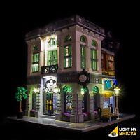 LIGHT MY BRICKS - LED Light kit for Lego Brick Bank set 10251 Lego LED Light