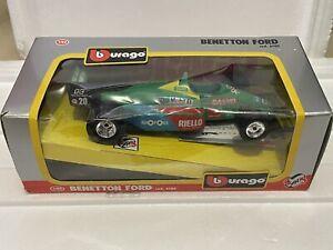Burago 1/24 DIE CAST BENETTON FORD #20 6102 - F1 Grand Prix 1983 - NEW IN BOX