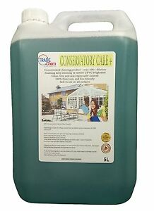 Wintergarten Pflege + Reiniger 5L - Sicher zu Benutzen Auf Alle Oberflächen -