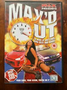 Max'd Out DVD Max Power Brit Cars Burn Outs and Birds!