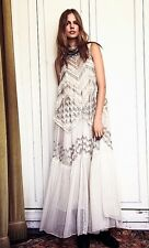 Free People Gemma's Antique Holiday Limited Edition Maxi Dress Beaded Wedding